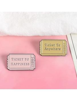 """ticket-to:""-pins by aesthentials"