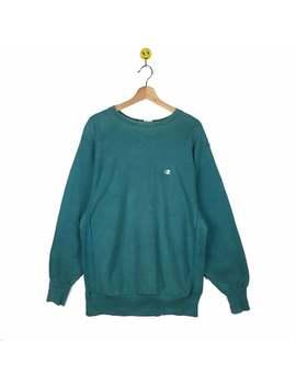vintage-champion-sweatshirt-pullover-sweater-shirt-windbreaker-streetwear-vintage-clothing-_-medium-size by etsy
