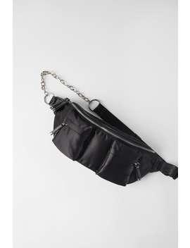 satin-effect-crossbody-belt-bag by zara