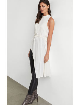 high-neck-asymmetric-top by bcbgmaxazria