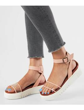 lunna-clear-strappy-flatform-sandal by mia