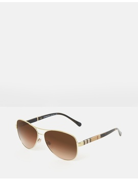 burberry-heritage---gold-canvas-check by burberry