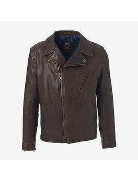 leather-moto-jacket by allen-edmonds