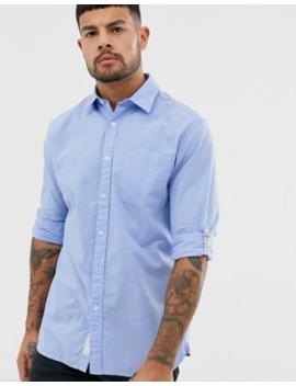 jack-&-jones-long-sleeve-slim-fit-shirt-in-vintage-indigo by jack-&-jones