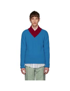 blue-aba-sweater by namacheko