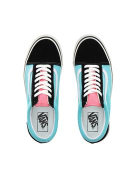 Anaheim Factory Old Skool 36 Dx (Black/Blue/Pink) by Vans