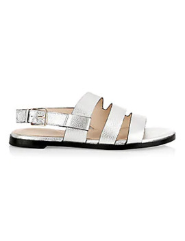 anela-grand-metallic-leather-sandals by cole-haan