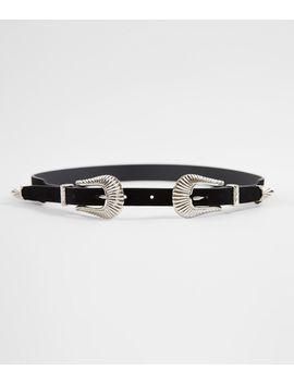 double-buckle-western-belt by bke