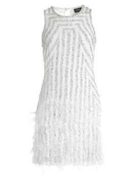 allegra-embellished-mini-dress by parker-black