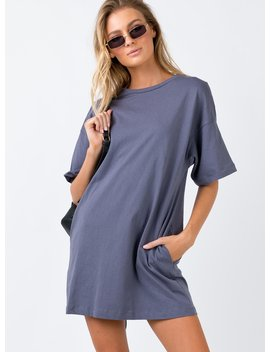 ride-or-die-mini-dress-charcoal by princess-polly