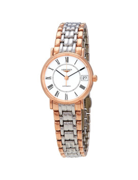 presence-automatic-ladies-two-tone-watch by longines