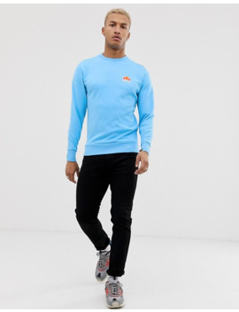 ellesse-anguilla-sweater-in-blue by ellesse