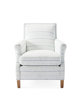 Canyon Chair   Surf Stripe Navy         Ch431 01 by Serena And Lily