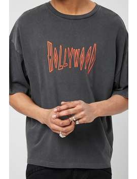 hollywood-graphic-tee by forever-21