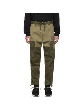 green-p-lukk-cargo-pants by diesel