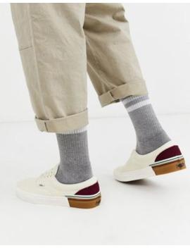 vans-era-gun-block-sneakers-in-cream by vans'