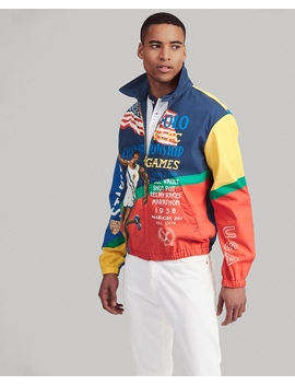 Bayport Graphic Windbreaker by Ralph Lauren