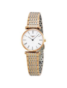 la-grande-classique-white-dial-two-tone-ladies-watch-l42091917 by longines