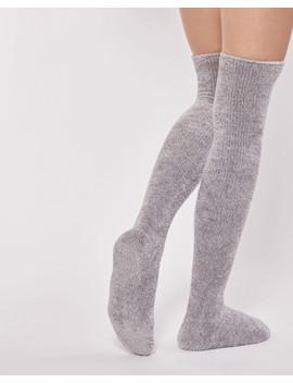 Chenille Long Socks by La Vie En Rose