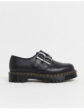 dr-martens-1461-alt-buckle-platform-shoes-in-black by dr-martens