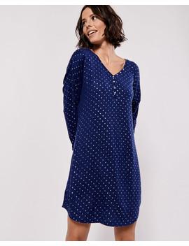 Soft Knit Sleepshirt Hooded Zip Closure Robe Hooded Zip Closure Robe by La Vie En Rose