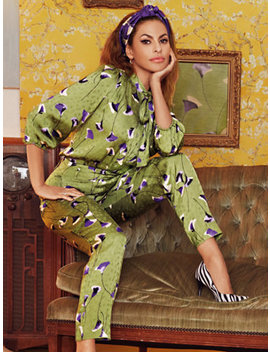 green-isabella-bow-blouse---eva-mendes-collection by new-york-&-company