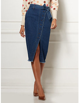 mariette-denim-skirt---eva-mendes-collection by new-york-&-company