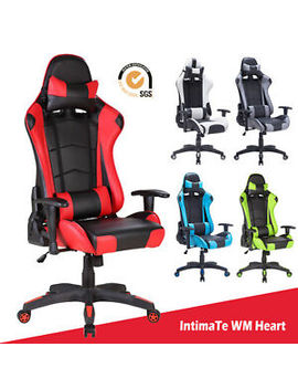 executive-racing-gaming-computer-office-chair-adjustable-swivel-recliner-leather by ebay-seller