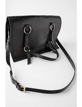 soft-tumbled-leather-crossbody-bag by zara
