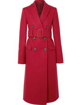 double-breasted-wool-blend-coat by helmut-lang