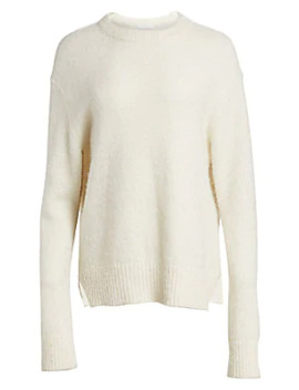 brushed-alpaca-blend-sweater by helmut-lang
