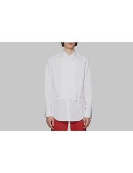 detachable-placket-shirt by helmut-lang