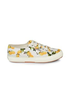 2750 Printedcotmixw Lemon by Superga