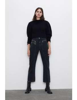jeans-z1975-straight-cremalleras by zara