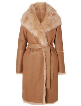 liman-belted-shearling-coat by joseph