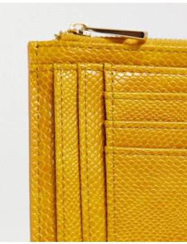 asos-design-snake-ladies-wallet-with-cardholder by asos-design