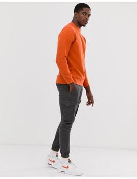 pull&bear-sweat-in-orange by pull&bear