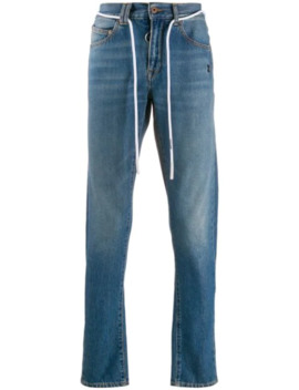jeans-mit-kordelzug by off-white