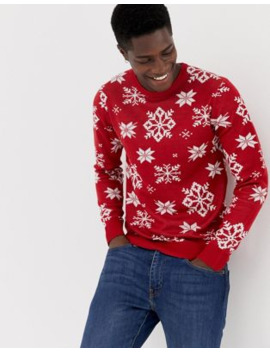 jack-&-jones-originals-knitted-holidays-sweater by jack-&-jones