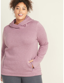 go-warm-plus-size-fleece-knit-pullover-hoodie by old-navy