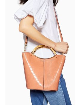 tyler-bamboo-handle-tote-bag by topshop