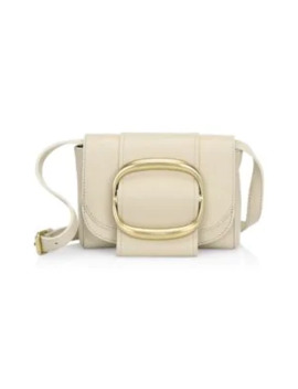 hopper-oversized-buckle-leather-shoulder-bag by see-by-chloé