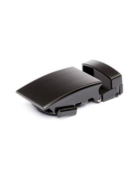 "1.25"" Classic Buckle In Black by Anson Belt & Buckle"