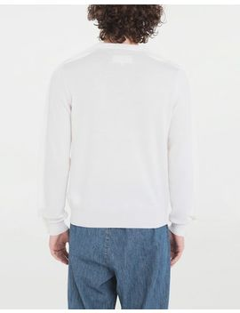 Outline Wool Sweater by Maison Margiela