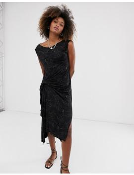 allsaints-snakecharm-riviera-jersey-sleeveless-midi-dress by allsaints