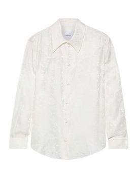 maddy-floral-silk-jacquard-shirt by nanushka