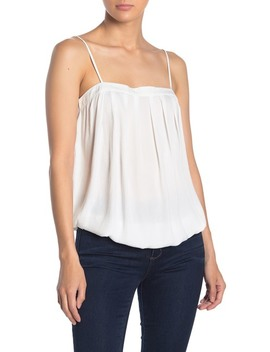 pleated-blouson-camisole by naked-zebra