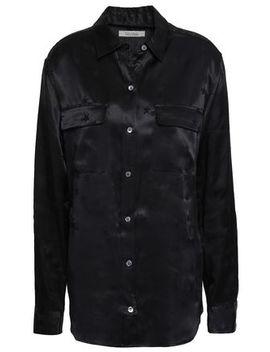 signature-satin-jacquard-shirt by equipment