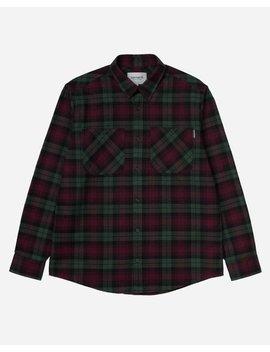 carhartt-wip-ls-pelkey-shirt---chrome-green_merlot by garmentory