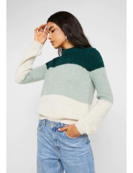 vmwine-block-o-neck---jumper by vero-moda-tall